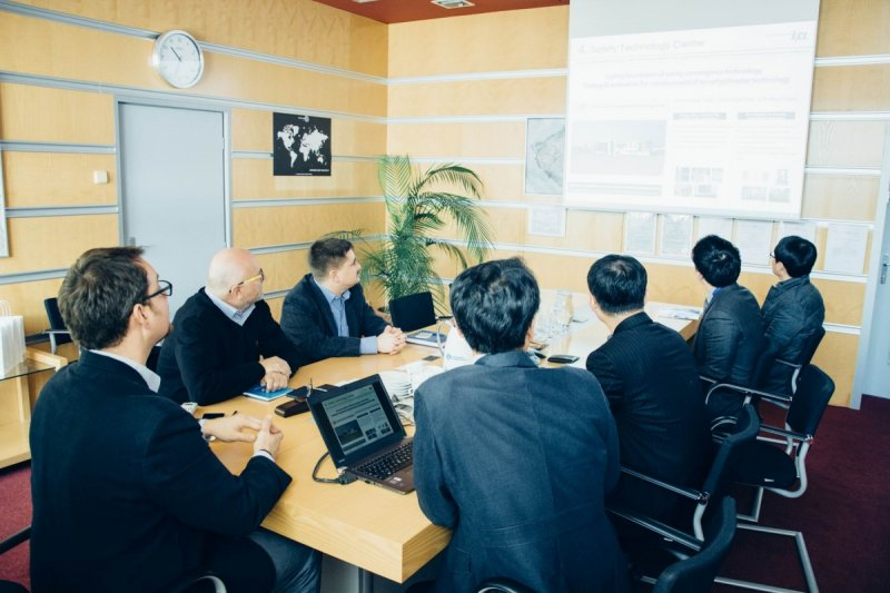 Korea Conformity Laboratories (KCL) visiting the SZU headquarters