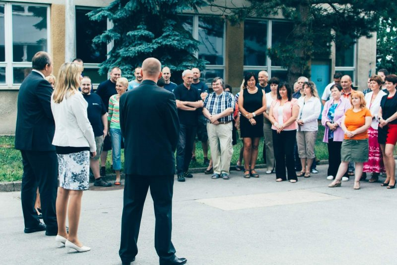 Ceremony and Handover of Renovated Office Building